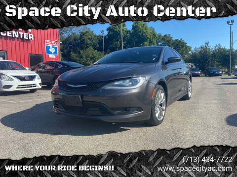 2015 Chrysler 200 for sale at Space City Auto Center in Houston TX