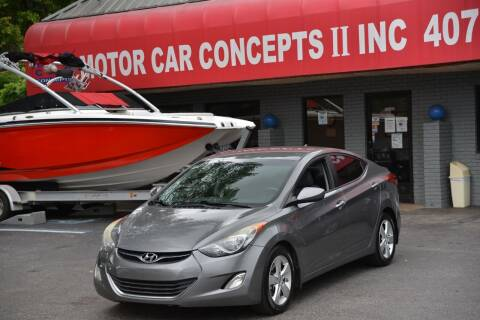 2013 Hyundai Elantra for sale at Motor Car Concepts II - Apopka Location in Apopka FL