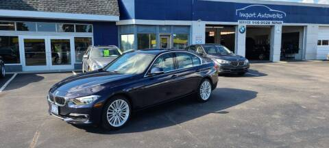 2013 BMW 3 Series for sale at Import Autowerks in Portsmouth VA