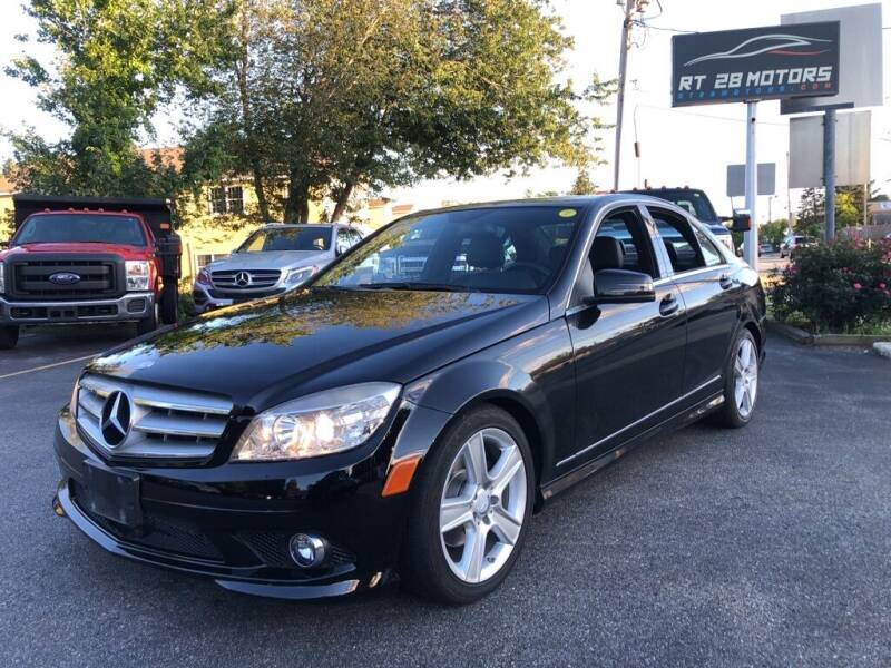 2010 Mercedes-Benz C-Class for sale at RT28 Motors in North Reading MA
