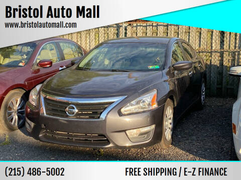 2013 Nissan Altima for sale at Bristol Auto Mall in Levittown PA