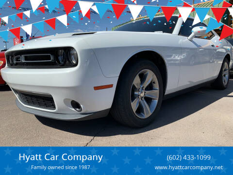 2015 Dodge Challenger for sale at Hyatt Car Company in Phoenix AZ