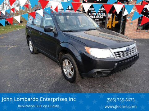 2013 Subaru Forester for sale at John Lombardo Enterprises Inc in Rochester NY