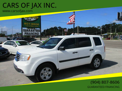 2014 Honda Pilot for sale at CARS OF JAX INC. in Jacksonville FL