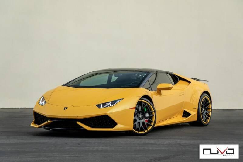 2015 Lamborghini Huracan for sale at Nuvo Trade in Newport Beach CA