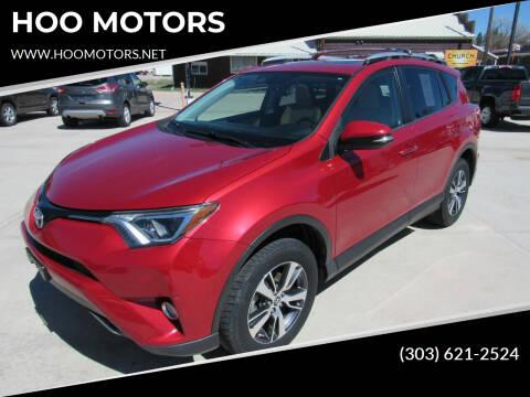 2016 Toyota RAV4 for sale at HOO MOTORS in Kiowa CO