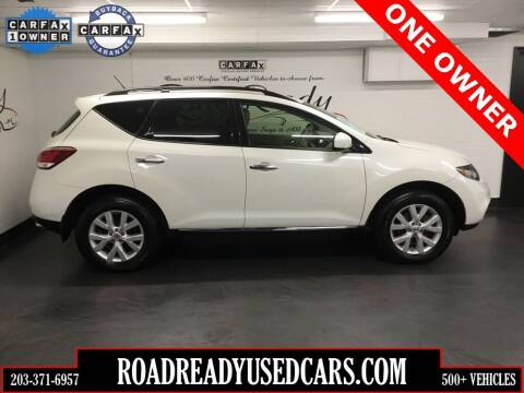 2014 Nissan Murano for sale at Road Ready Used Cars in Ansonia CT