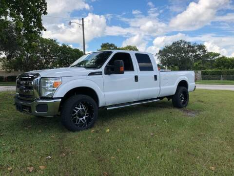 2013 Ford F-350 Super Duty for sale at Transcontinental Car USA Corp in Fort Lauderdale FL