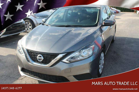 2016 Nissan Sentra for sale at Mars auto trade llc in Kissimmee FL