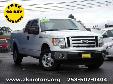 2012 Ford F-150 for sale at AK Motors in Tacoma WA