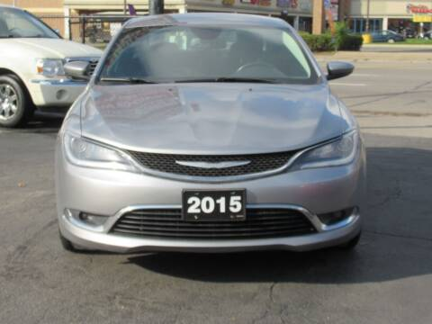 2015 Chrysler 200 for sale at Bi-Rite Auto Sales in Clinton Township MI