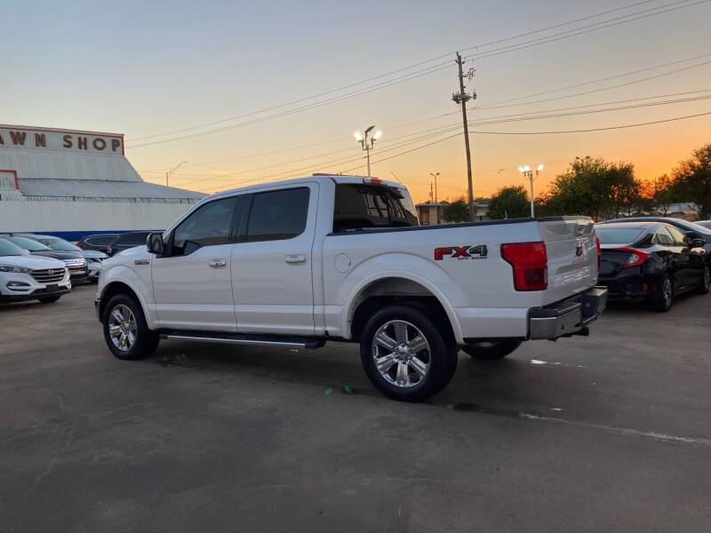 2018 Ford F-150 4x4 Lariat 4dr SuperCrew 5.5 ft. SB - Houston TX