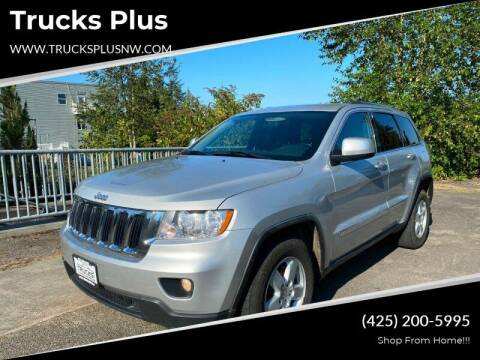 2011 Jeep Grand Cherokee for sale at Trucks Plus in Seattle WA