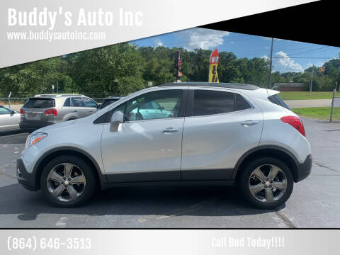 2013 Buick Encore for sale at Buddy's Auto Inc in Pendleton, SC