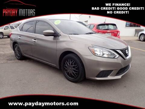 2016 Nissan Sentra for sale at Payday Motors in Wichita And Topeka KS