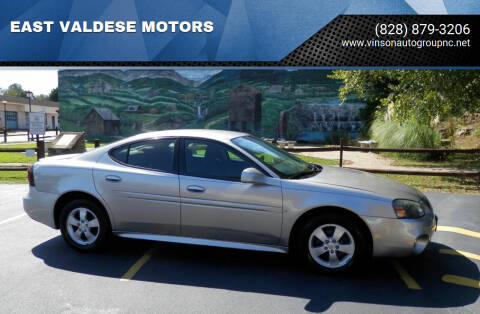 2007 Pontiac Grand Prix for sale at EAST VALDESE MOTORS / VINSON AUTO GROUP in Valdese NC