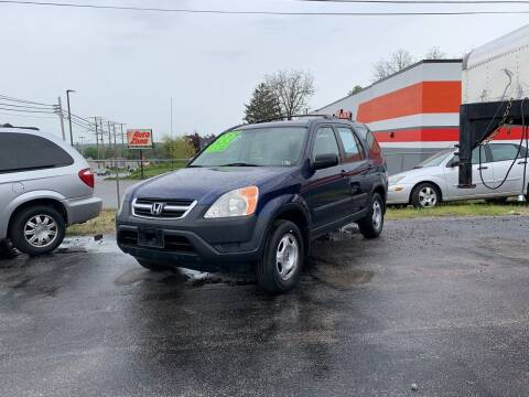 2002 Honda CR-V for sale at Credit Connection Auto Sales Dover in Dover PA
