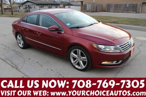 2013 Volkswagen CC for sale at Your Choice Autos in Posen IL
