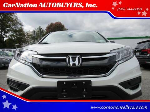 2016 Honda CR-V for sale at CarNation AUTOBUYERS, Inc. in Rockville Centre NY