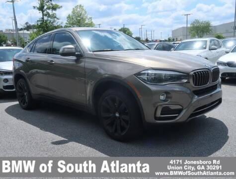 2017 BMW X6 for sale at Carol Benner @ BMW of South Atlanta in Union City GA
