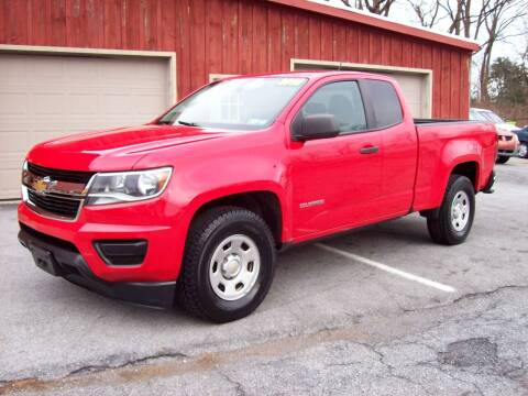 2016 Chevrolet Colorado for sale at Clift Auto Sales in Annville PA