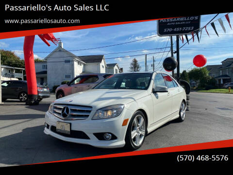 2010 Mercedes-Benz C-Class for sale at Passariello's Auto Sales LLC in Old Forge PA