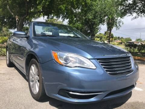 2011 Chrysler 200 Convertible for sale at Eden Cars Inc in Hollywood FL