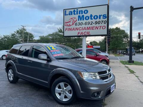 2012 Dodge Journey for sale at Latino Motors in Aurora IL