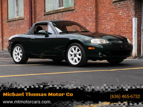 2002 Mazda MX-5 Miata for sale at Michael Thomas Motor Co in Saint Charles MO
