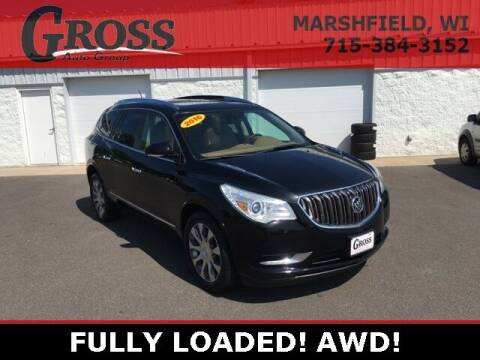 2016 Buick Enclave for sale at Gross Motors of Marshfield in Marshfield WI