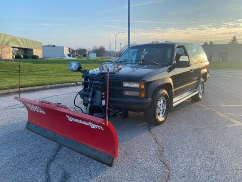 1993 Chevrolet Blazer for sale at JE Autoworks LLC in Willoughby OH