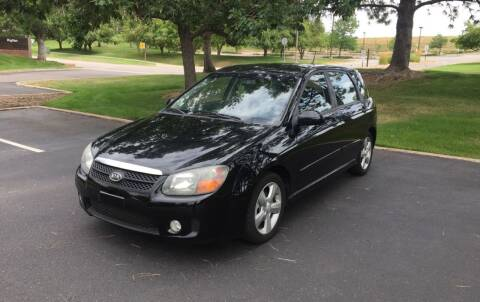 2008 Kia Spectra for sale at QUEST MOTORS in Englewood CO