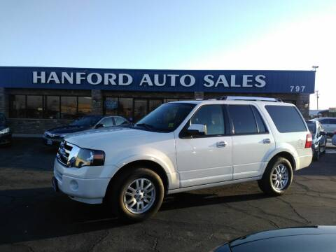 2012 Ford Expedition for sale at Hanford Auto Sales in Hanford CA