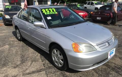 2001 Honda Civic for sale at Klein on Vine in Cincinnati OH