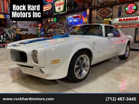 1970 Pontiac Trans Am for sale at Rock Hard Motors Inc in Treynor IA