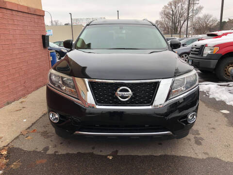2016 Nissan Pathfinder for sale at Nice Cars Auto Inc in Minneapolis MN