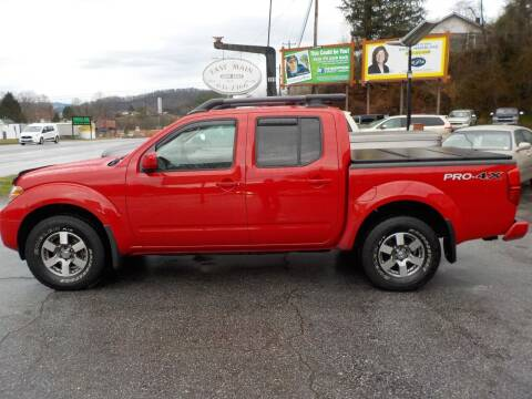 2011 Nissan Frontier for sale at EAST MAIN AUTO SALES in Sylva NC