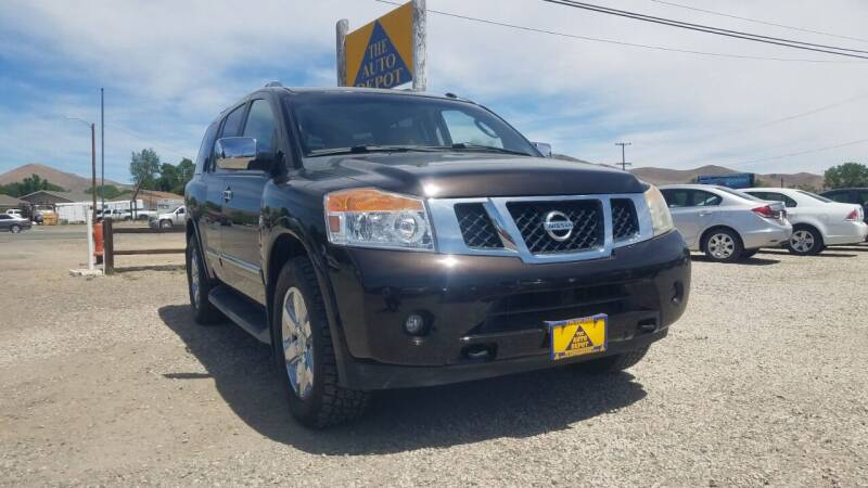 2012 Nissan Armada for sale at Auto Depot in Carson City NV