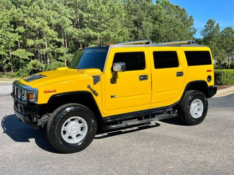 2003 HUMMER H2 for sale at Weaver Motorsports Inc in Cary NC