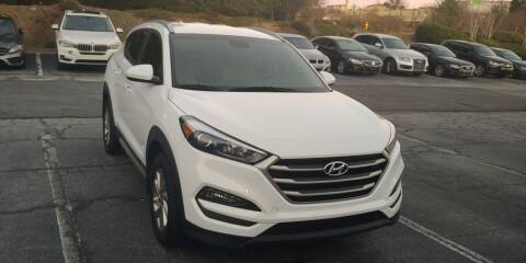 2018 Hyundai Tucson for sale at C & J International Motors in Duluth GA
