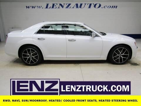 2012 Chrysler 300 for sale at LENZ TRUCK CENTER in Fond Du Lac WI