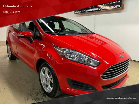 2015 Ford Fiesta for sale at Orlando Auto Sale in Orlando FL