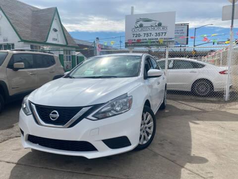 2017 Nissan Sentra for sale at GO GREEN MOTORS in Denver CO
