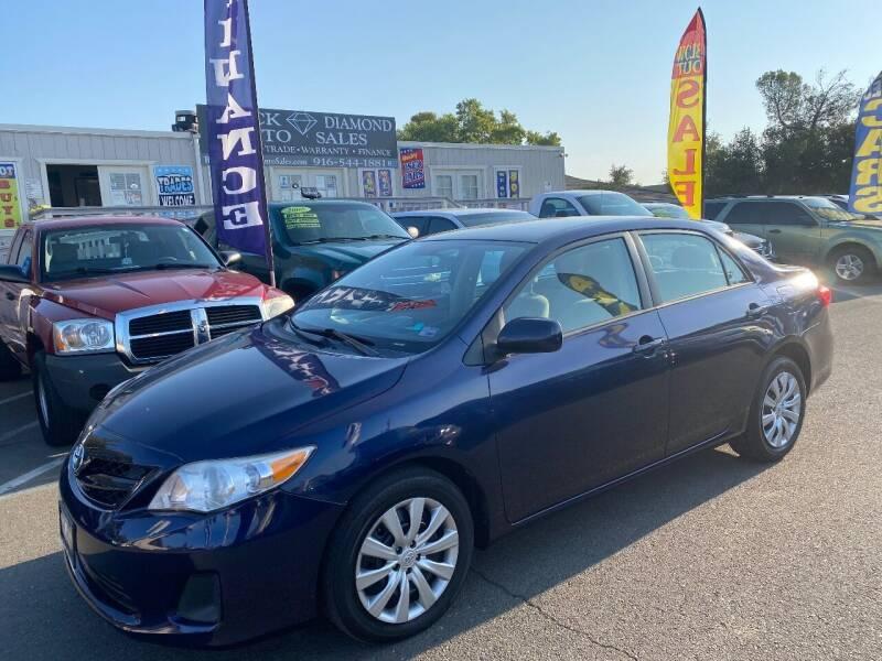2012 Toyota Corolla for sale at Black Diamond Auto Sales Inc. in Rancho Cordova CA