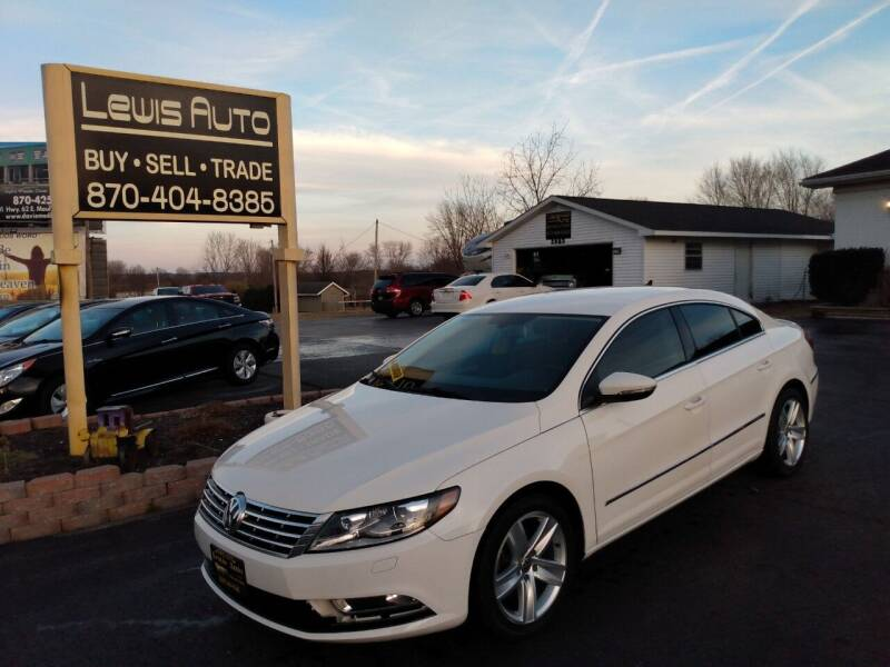 2013 Volkswagen CC for sale at LEWIS AUTO in Mountain Home AR