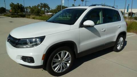 2013 Volkswagen Tiguan for sale at International Motors in San Pedro CA