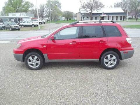 2003 Mitsubishi Outlander for sale at BRETT SPAULDING SALES in Onawa IA