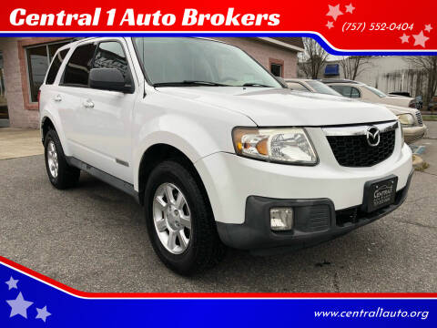 2008 Mazda Tribute for sale at Central 1 Auto Brokers in Virginia Beach VA