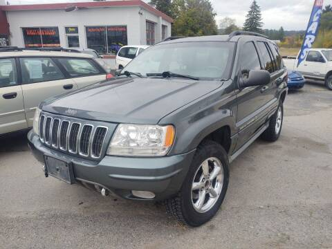 2002 Jeep Grand Cherokee for sale at Direct Auto Sales+ in Spokane Valley WA