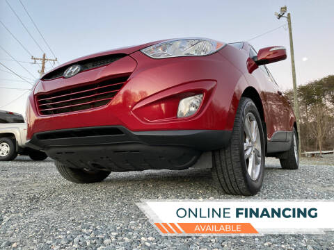 2013 Hyundai Tucson for sale at Prime One Inc in Walkertown NC